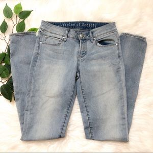 Articles Of Society Light Wash Skinny Jeans